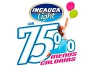 Incauca Light con 75% menos calorías